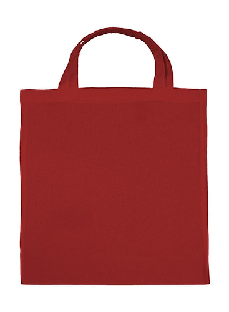 Jassz Bags Budget Promo Bag Short-Handle in Red (Product Code: JB1003842SH)