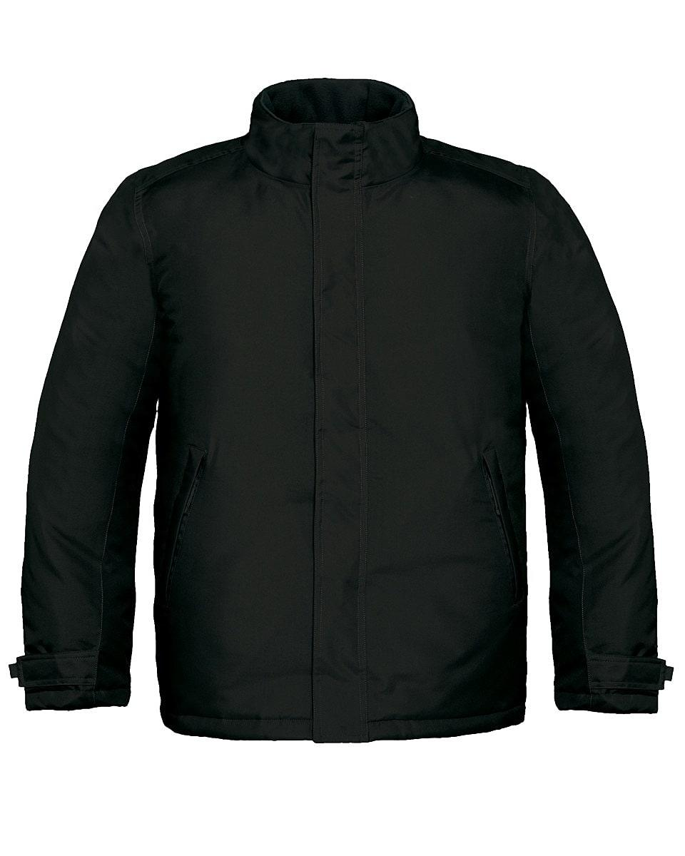 B&C Mens Real+ Jacket in Black (Product Code: JM970)