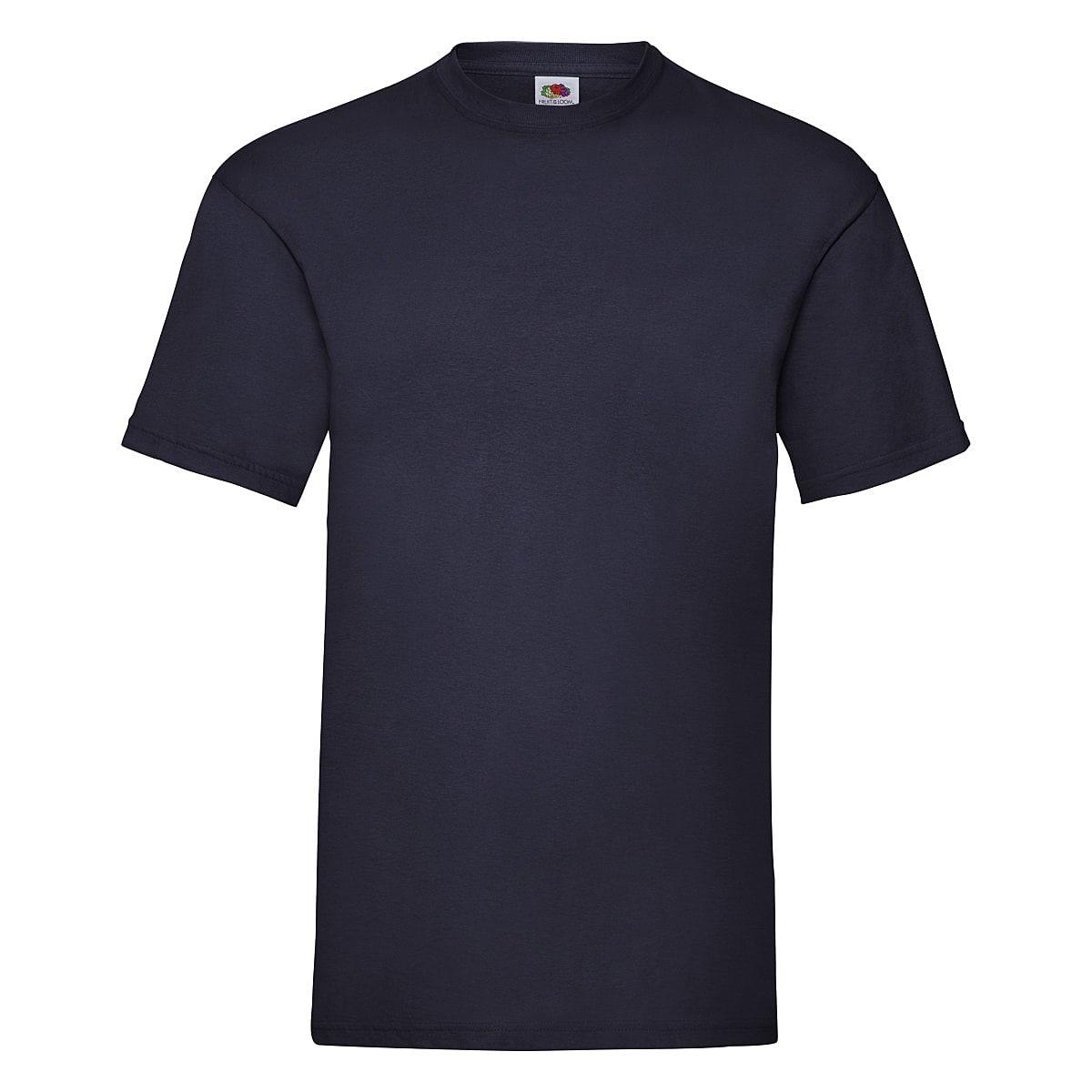 Fruit Of The Loom Valueweight T-Shirt in Deep Navy (Product Code: 61036)