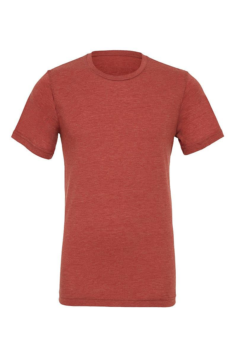 Bella Canvas Mens Tri-blend Short-Sleeve T-Shirt in Clay Triblend (Product Code: CA3413)
