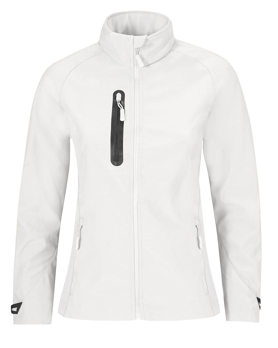 B&C Womens X Lite Softshell Jacket in White (Product Code: JW938)