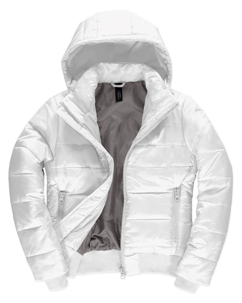 B&C Womens Superhood Jacket in White (Product Code: JW941)