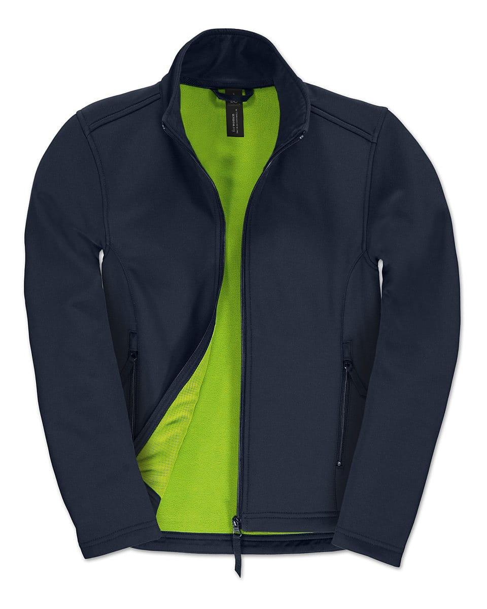 B&C Womens ID.701 Softshell Jacket in Navy Blue (Product Code: JWI63)