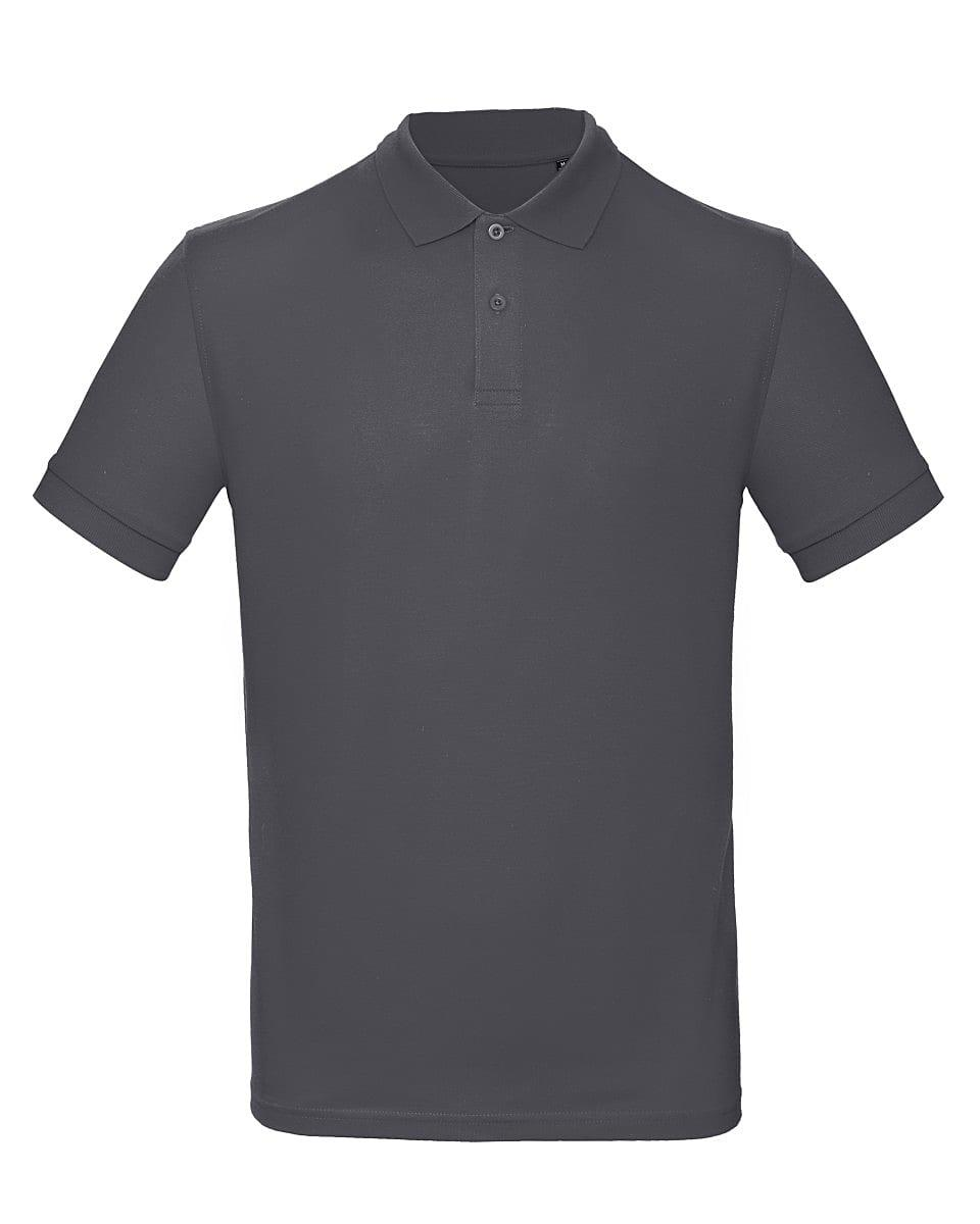 B&C Mens Inspire Polo Shirt in Dark Grey (Product Code: PM430)