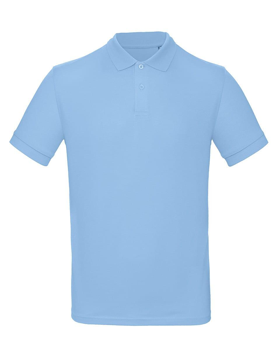B&C Mens Inspire Polo Shirt in Sky Blue (Product Code: PM430)