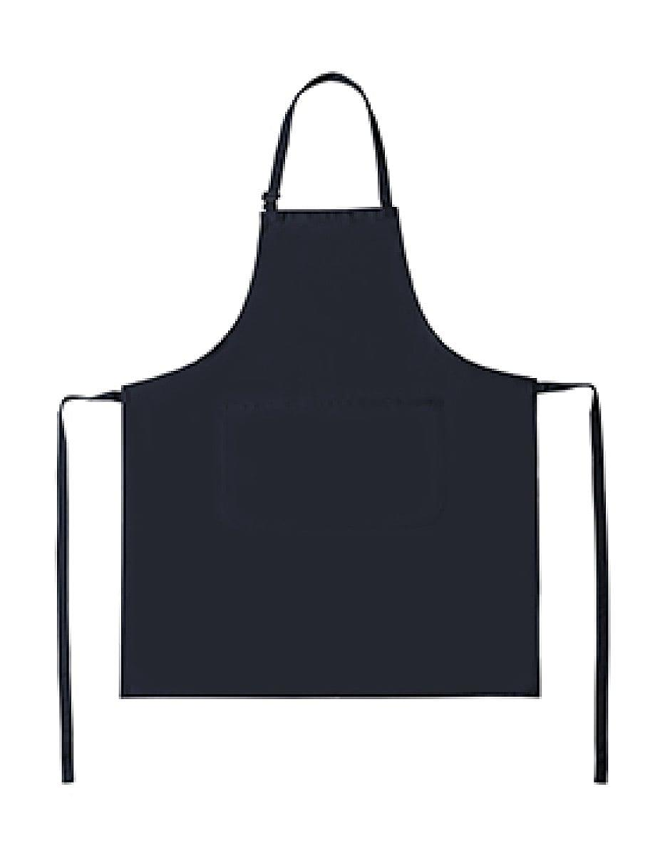 Bistro By Jassz Lisbon Cotton Bib Apron in Navy Blue (Product Code: JG20)