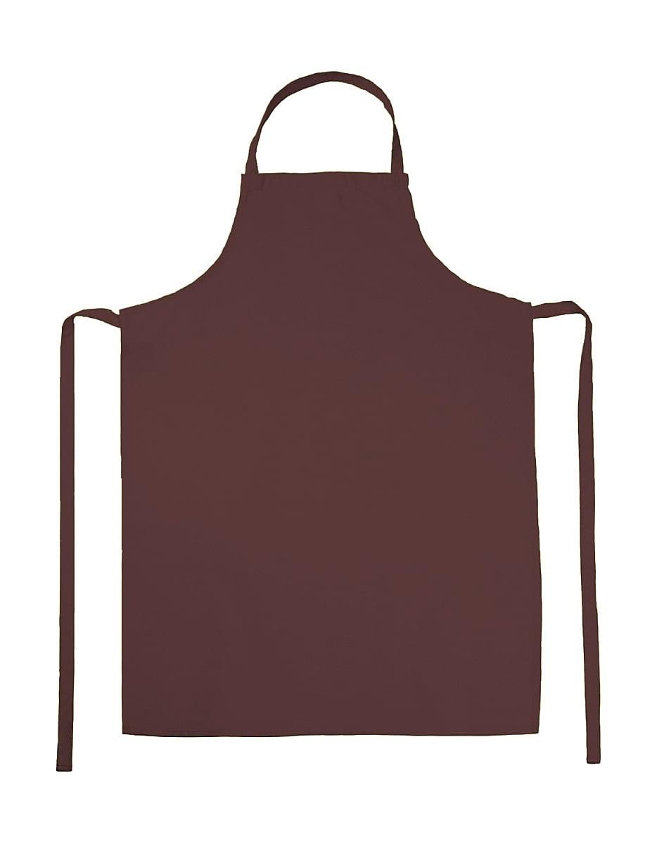 Jassz Bistro Paris Bib Apron in Terracotta (Product Code: JG21)