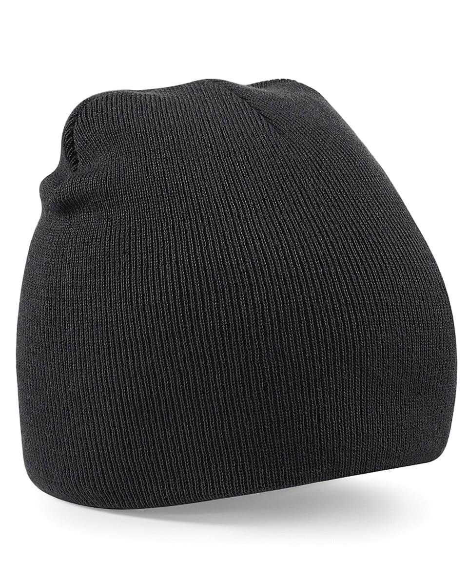 Beechfield Original Pull-On Beanie Hat in Black (Product Code: B44)