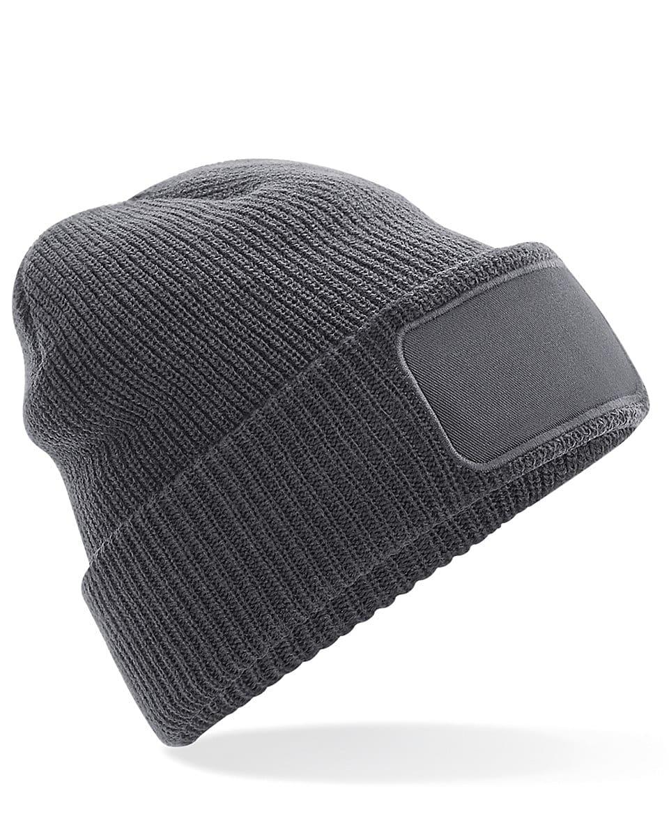 Beechfield Thinsulate Printer Beanie Hat in Graphite (Product Code: B440)
