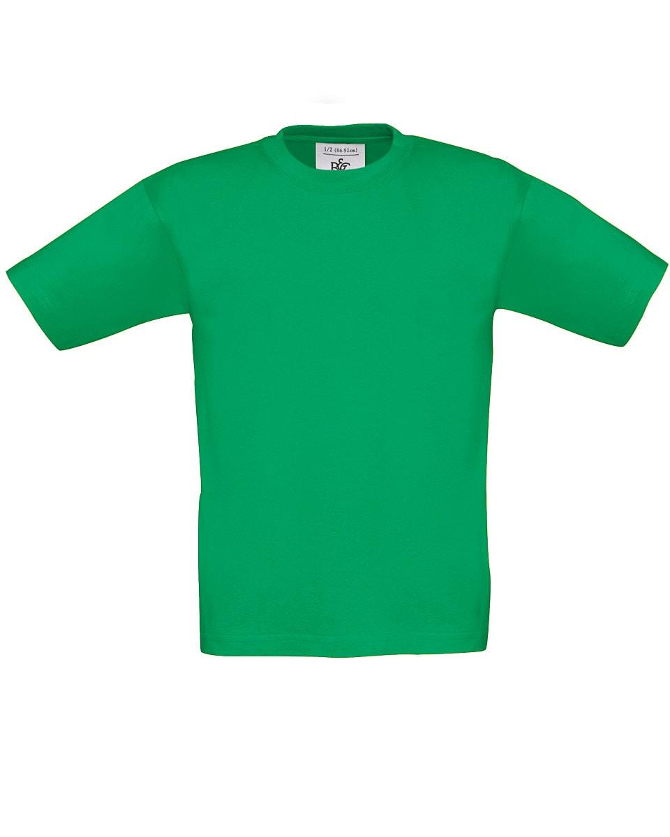 B&C Childrens Exact 190 T-Shirt in Kelly Green (Product Code: TK301)