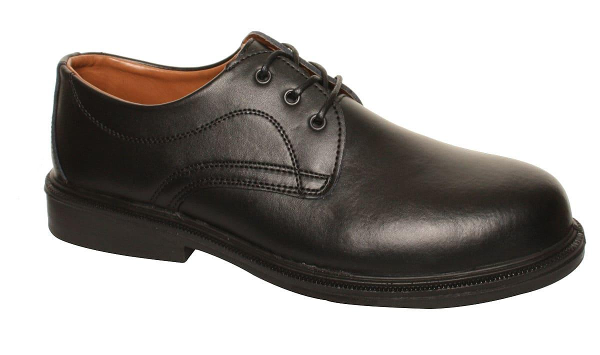 Dennys COMFORT GRIP Managers Shoes in Black (Product Code: DK83)