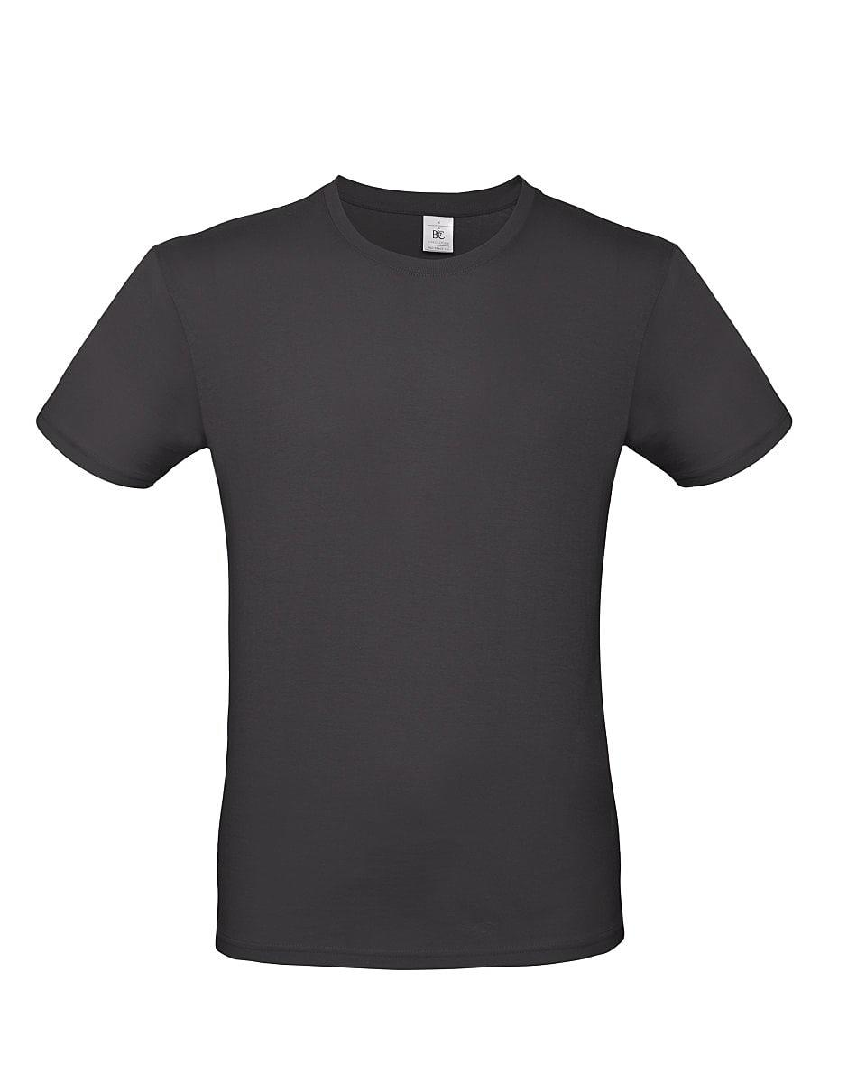 B&C Mens E150 T-Shirt in Used Black (Product Code: TU01T)