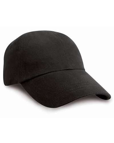 Result Headwear Childrens Low Profile Heavy Brushed Cotton Cap
