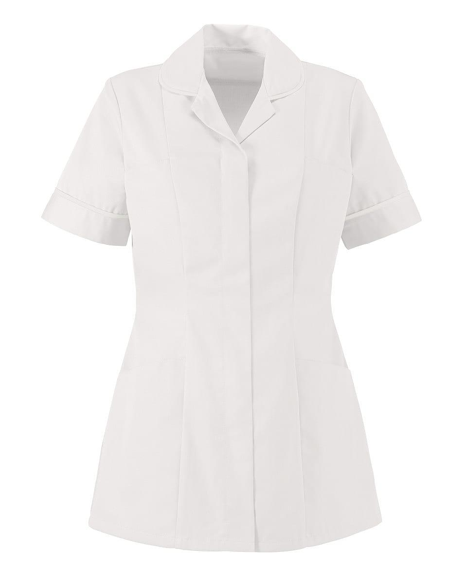 Alexandra Womens Lightweight Tunic in White (Product Code: NF48)