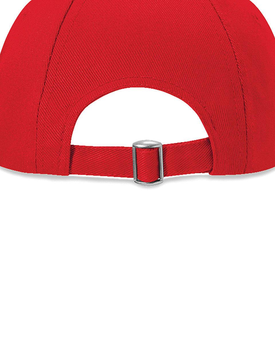Beechfield Low Profile Heavy Drill Cap in Classic Red (Product Code: B58)