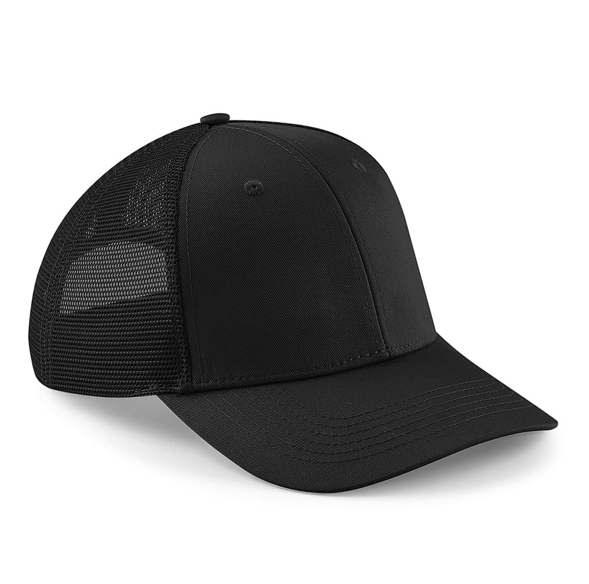 Beechfield Urbanwear Trucker Cap in Black (Product Code: B646)