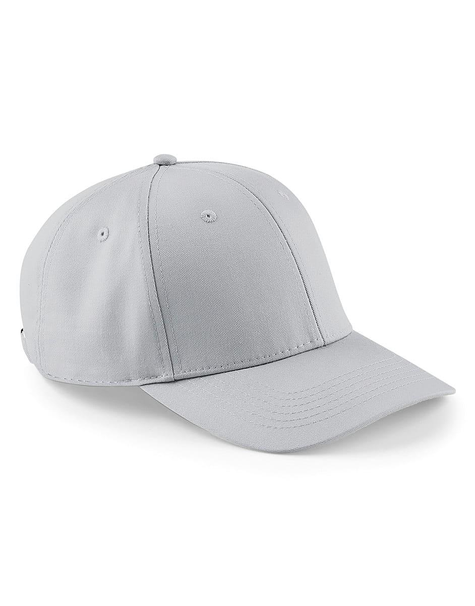 Beechfield Urbanwear 6 Panel Cap in Light Grey (Product Code: B651)