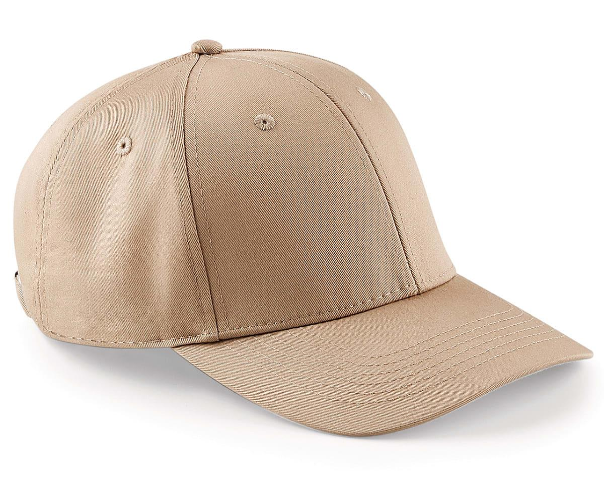 Beechfield Urbanwear 6 Panel Cap in Warm Sand (Product Code: B651)