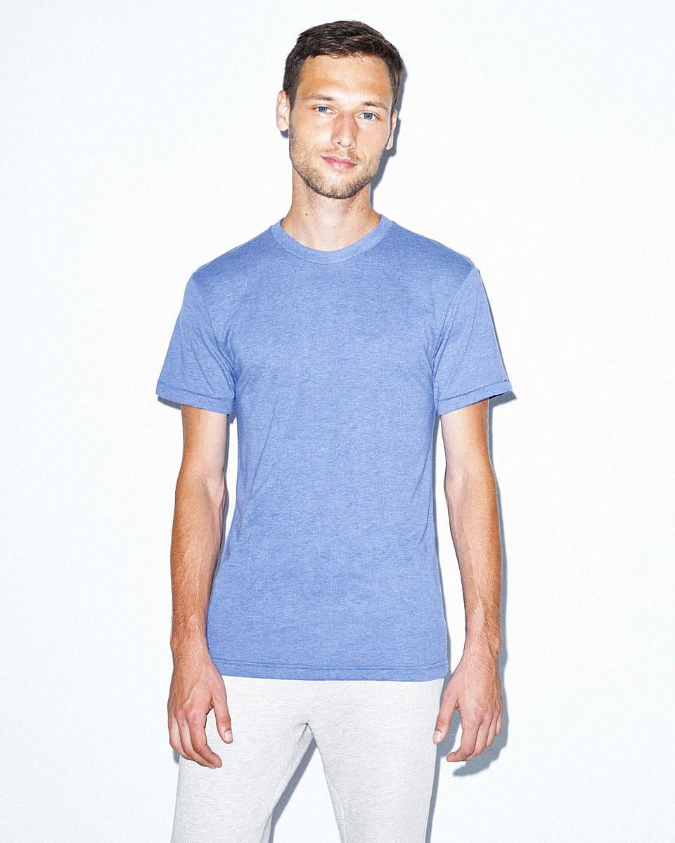 American Apparel Adult Triblend T-Shirt in Athletic Blue (Product Code: TR401W)