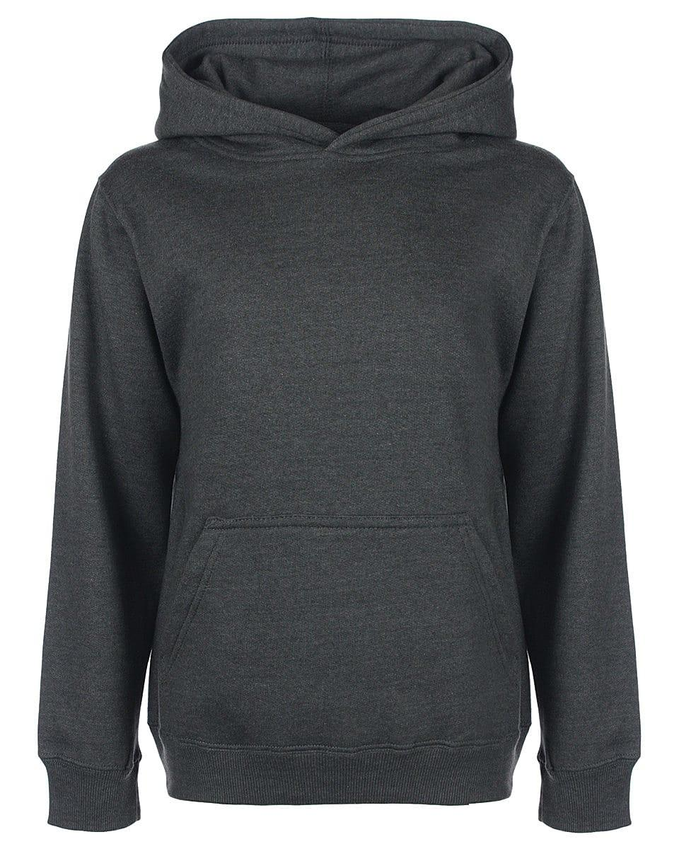 FDM Junior Hoodie in Charcoal (Product Code: FH004)