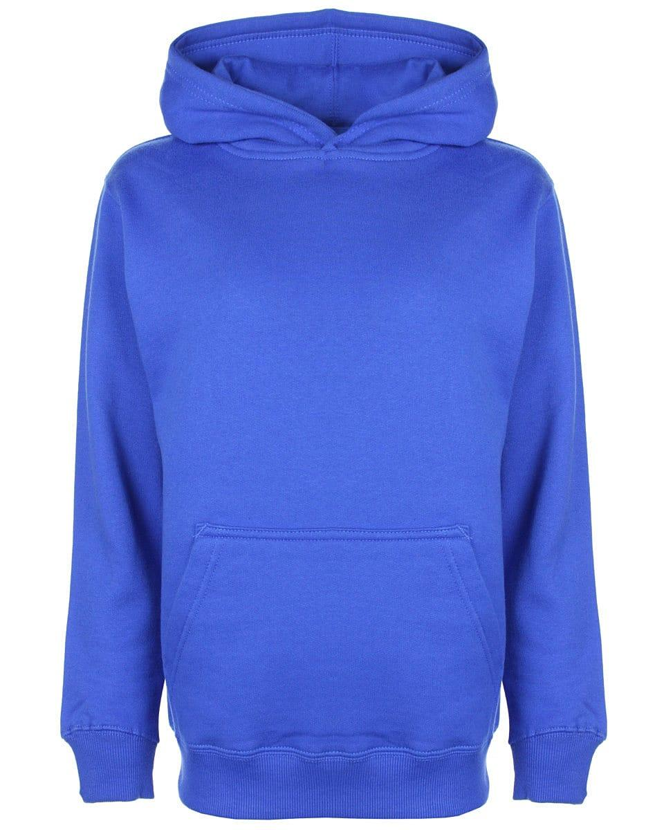 FDM Junior Hoodie in Royal Blue (Product Code: FH004)