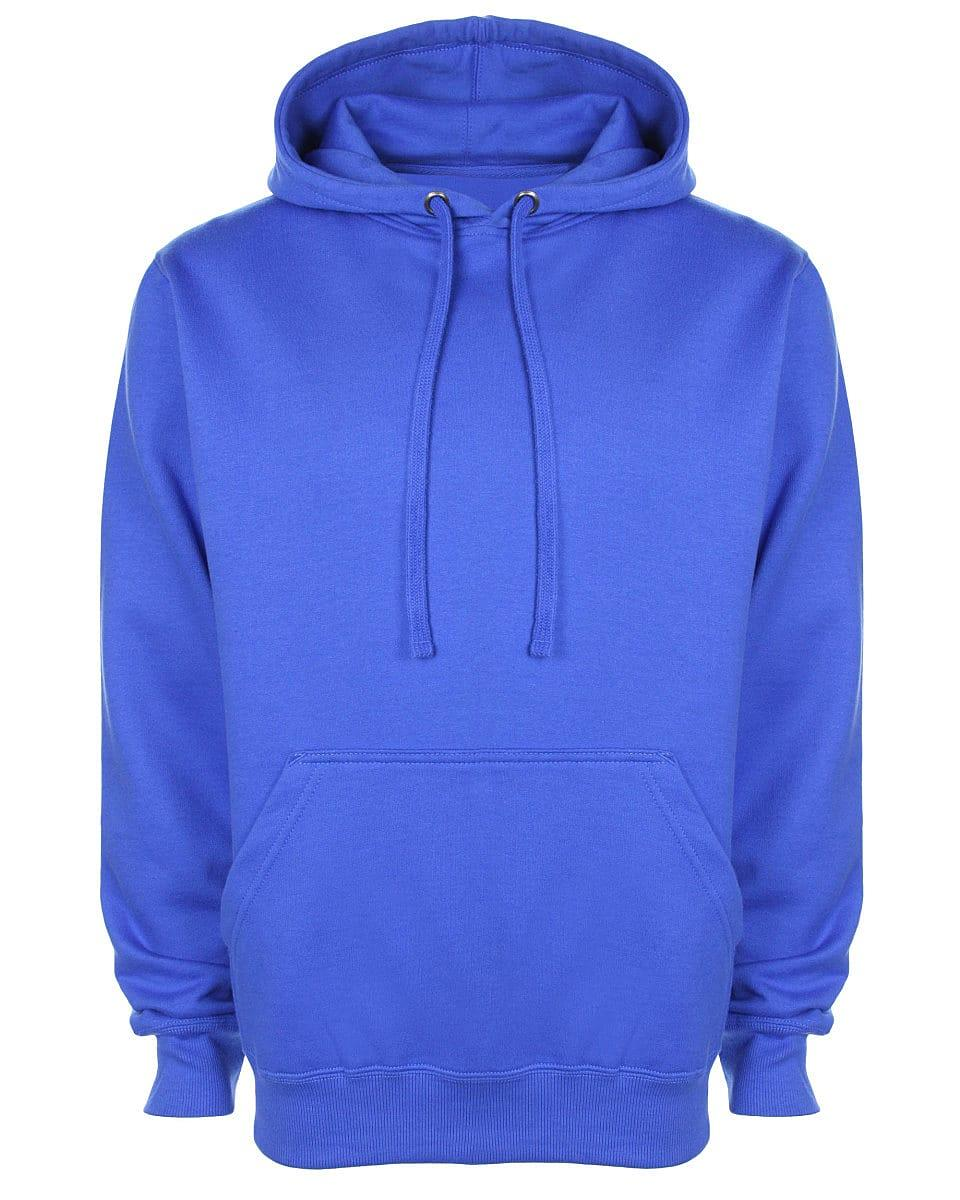 FDM Unisex Tagless Hoodie in Royal Blue (Product Code: TH001)