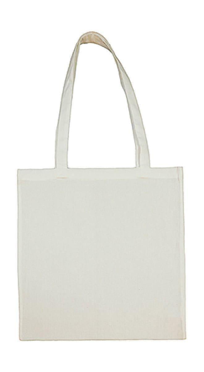 Jassz Bags Beech Cotton Long-Handle Bag in Mystic Blue (Product Code: 3842LH)