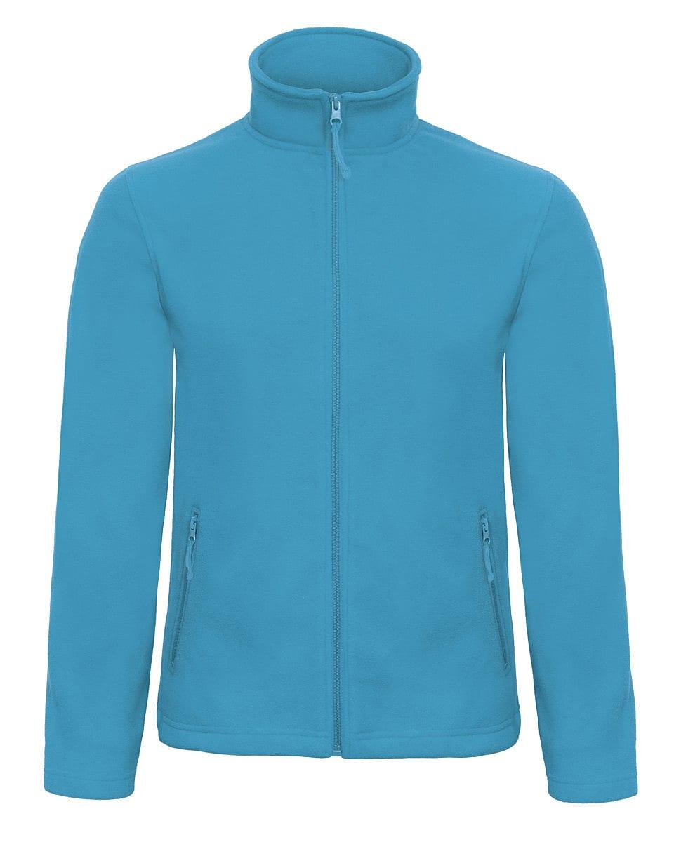 B&C Mens ID.501 Fleece Jacket in Atoll (Product Code: FUI50)