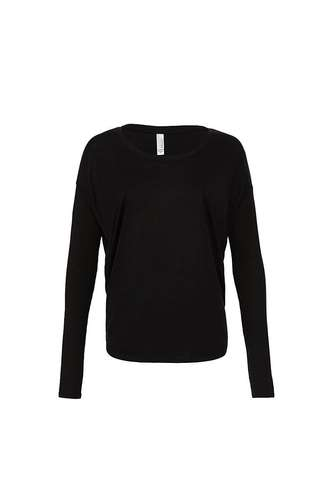 Bella Long-Sleeve Flowy 2x1 T-Shirt