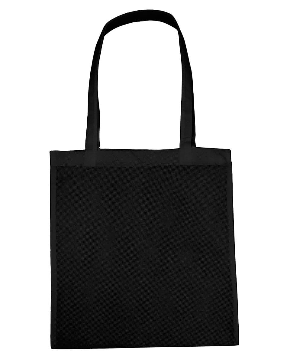 Jassz Bags Willow Basic Long-Handle Shopper in Black (Product Code: PP3842LH)