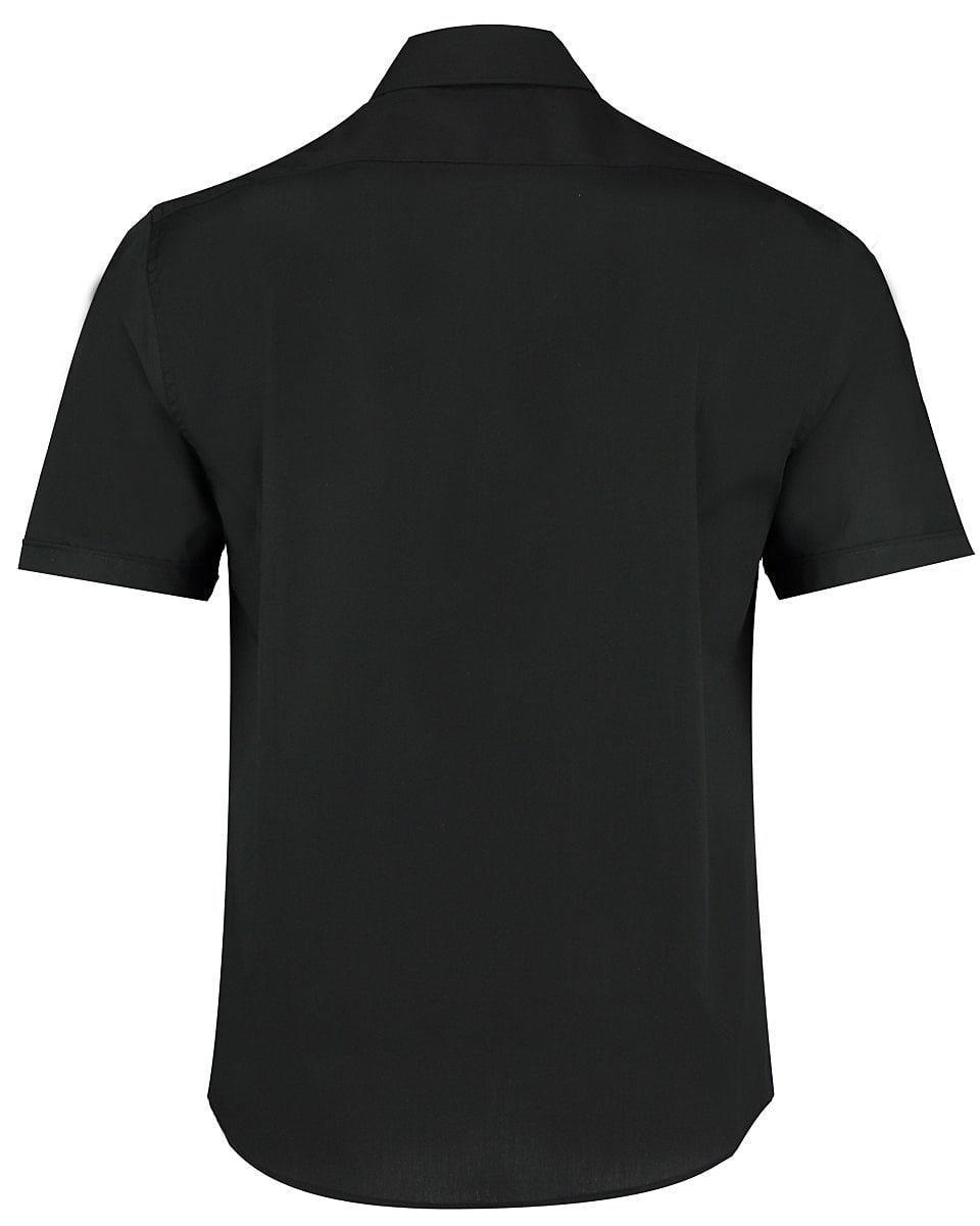 Bargear Mens Short-Sleeve Bar Shirt in Black (Product Code: KK120)
