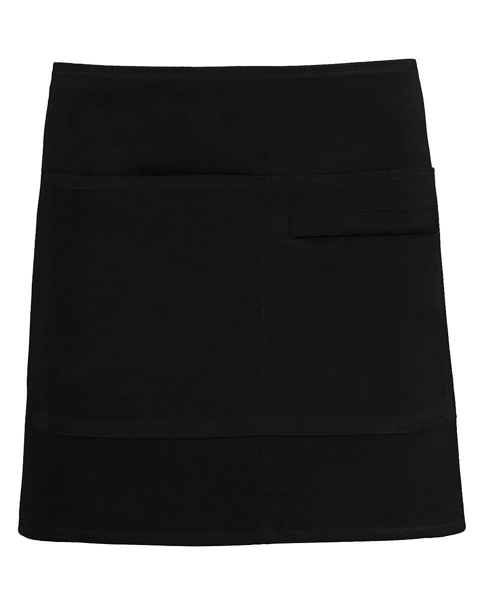 Bargear Unisex Short Bar Apron in Black (Product Code: KK513)