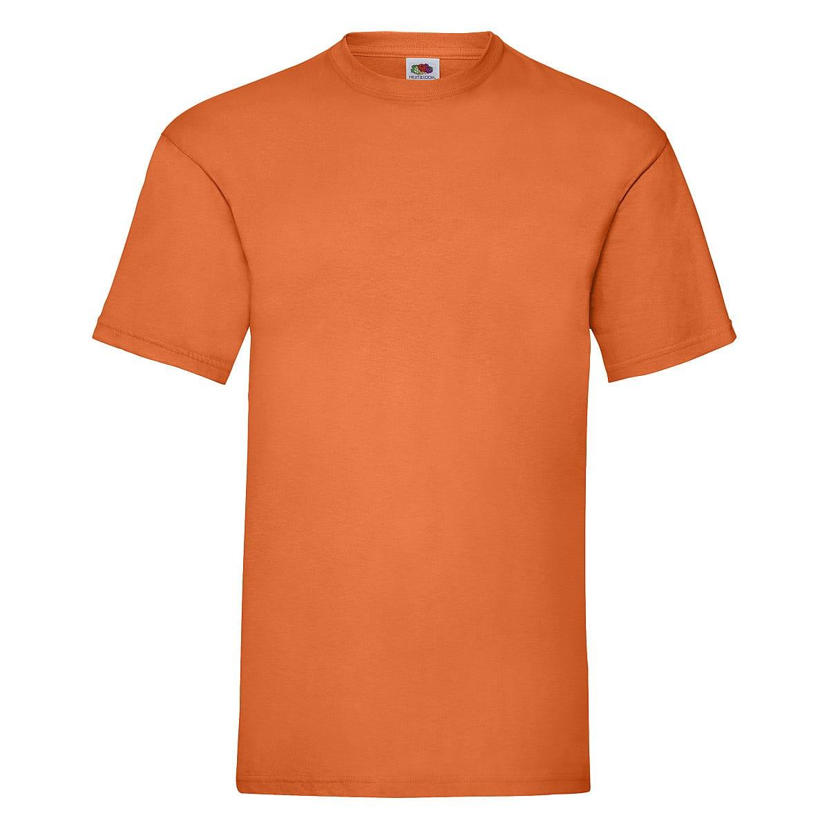 Fruit Of The Loom Valueweight T-Shirt in Orange (Product Code: 61036)