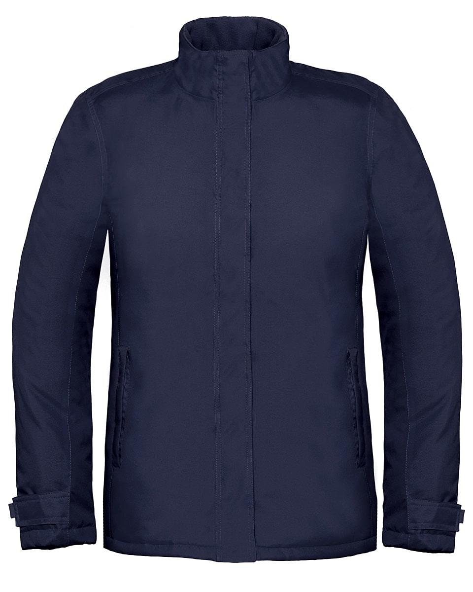 B&C Womens Real+ Jacket in Navy Blue (Product Code: JW925)