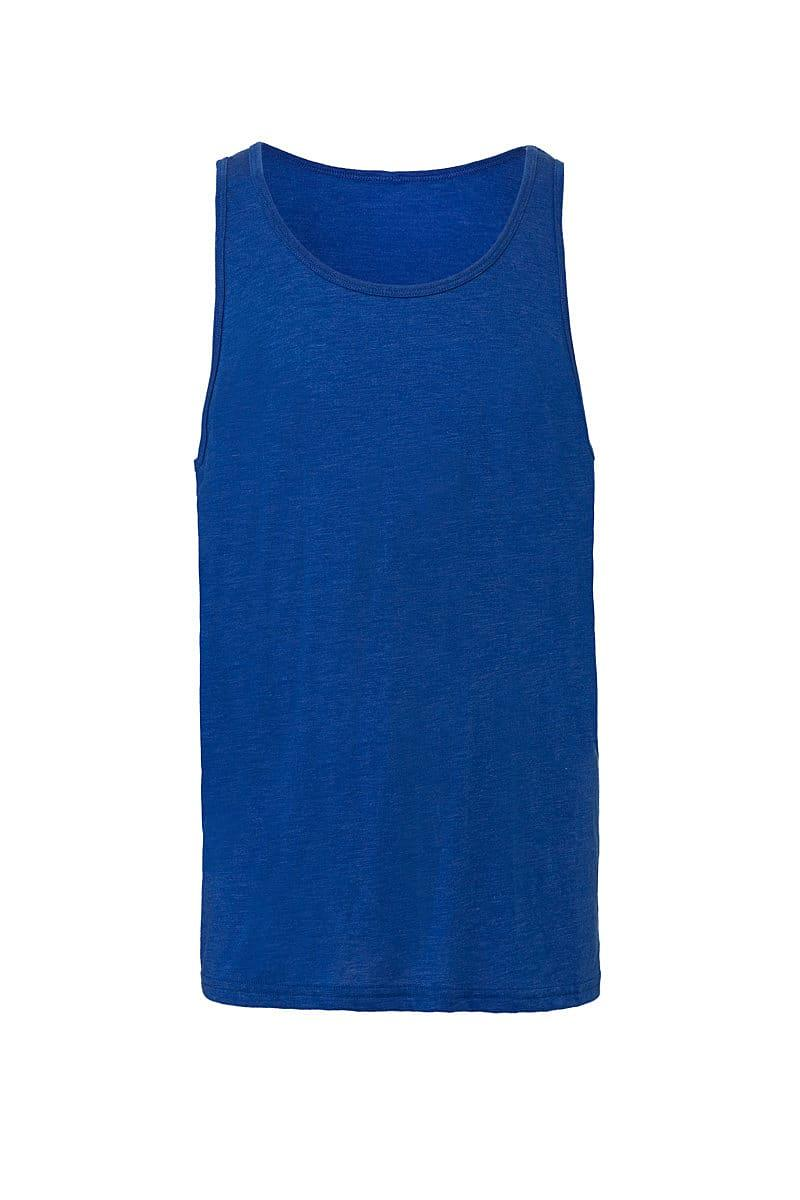 Bella Unisex Jersey Tank in True Royal (Product Code: CA3480)