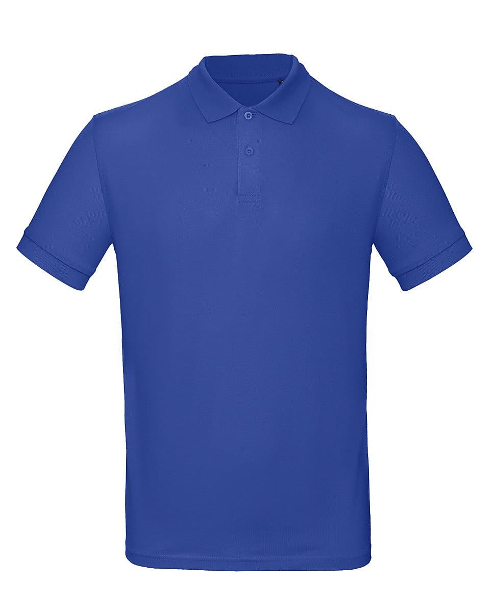 B&C Mens Inspire Polo Shirt in Cobalt Blue (Product Code: PM430)