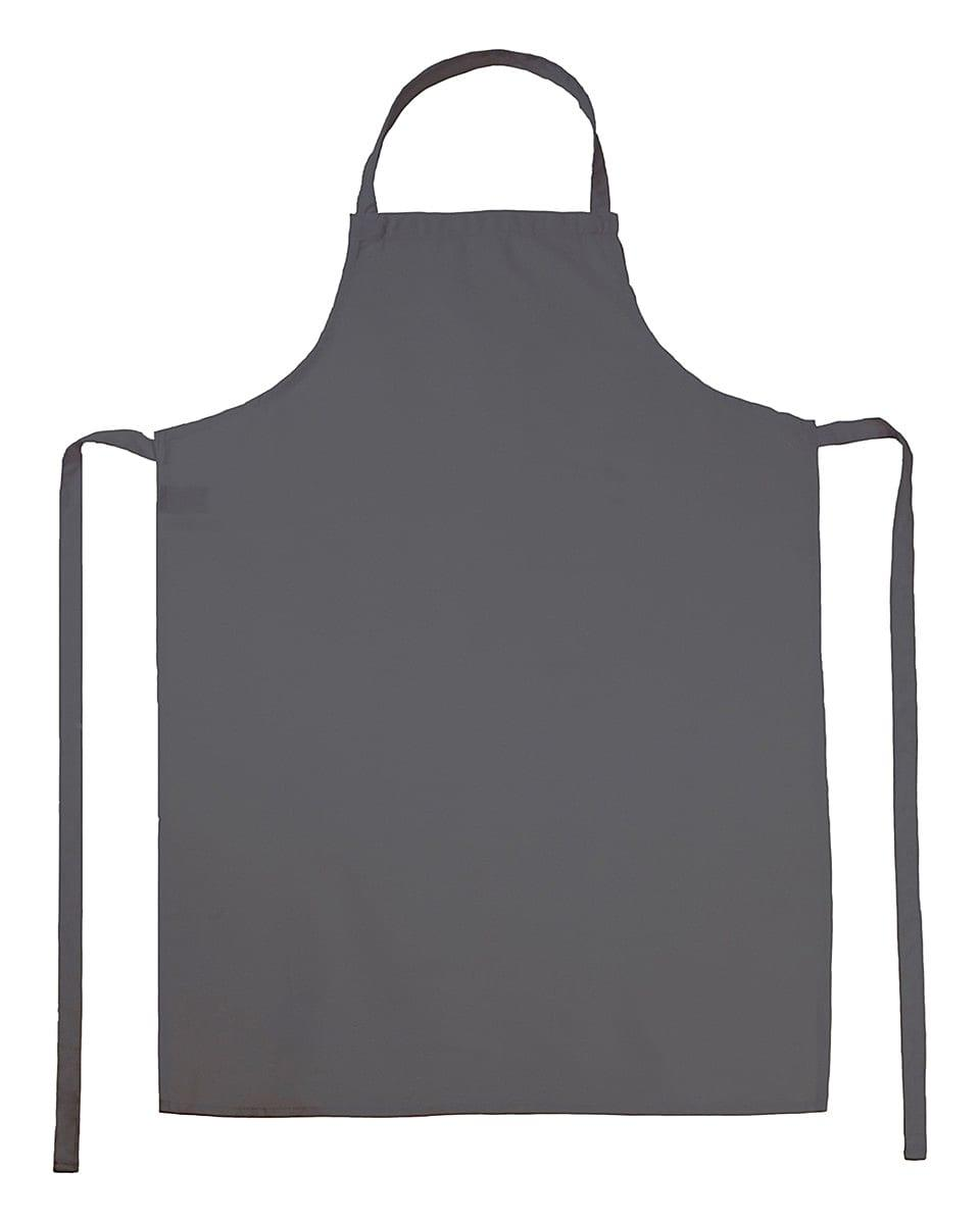 Jassz Bistro Paris Bib Apron in Grey (Product Code: JG21)