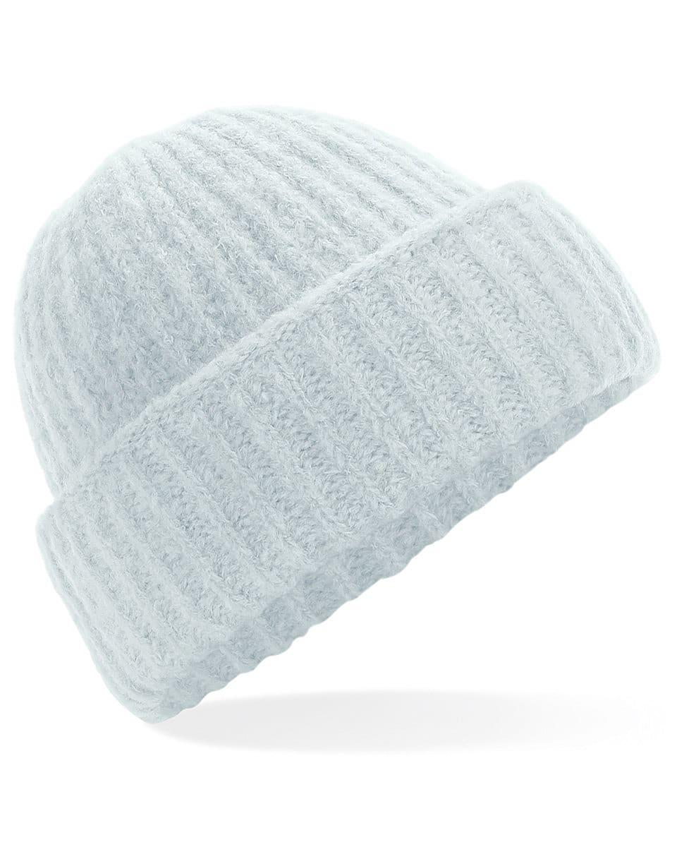 Beechfield Plush Beanie Hat in Soft Ice (Product Code: B418)