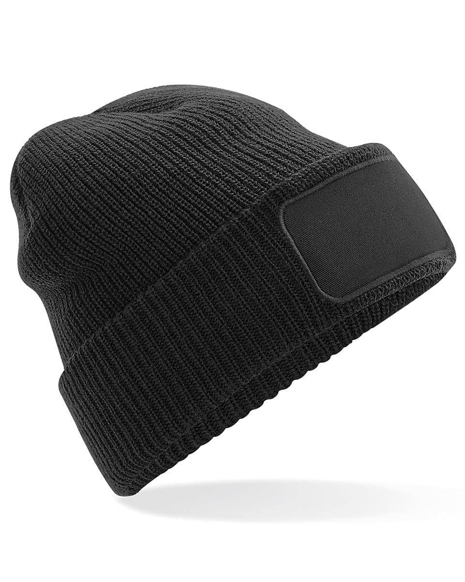 Beechfield Thinsulate Printer Beanie Hat in Black (Product Code: B440)