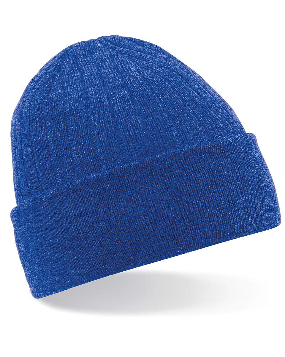 Beechfield Thinsulate Beanie Hat in Bright Royal (Product Code: B447)