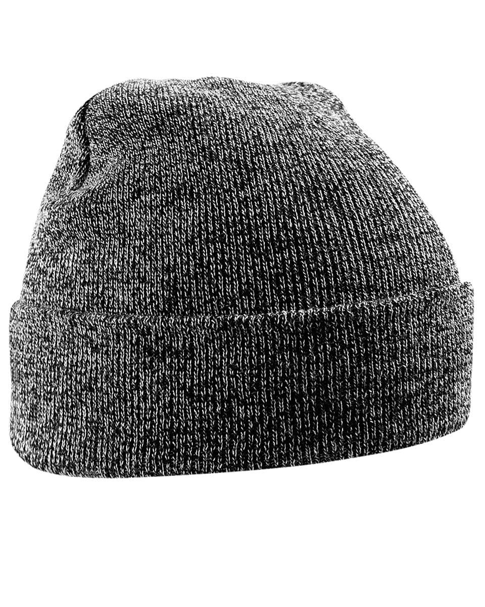 Beechfield Original Cuffed Beanie Hat in Antique Grey (Product Code: B45)