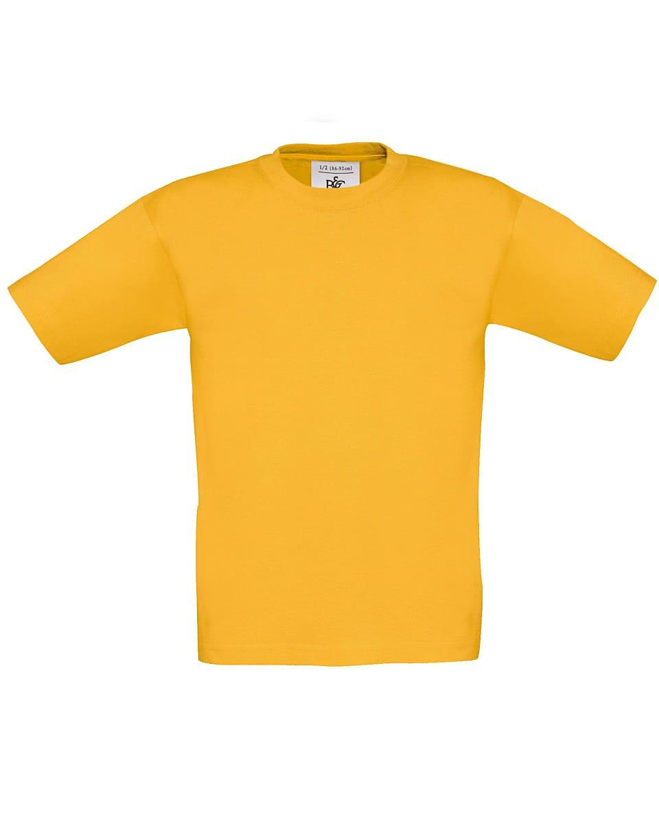 B&C Childrens Exact 150 T-Shirt in Gold (Product Code: TK300)