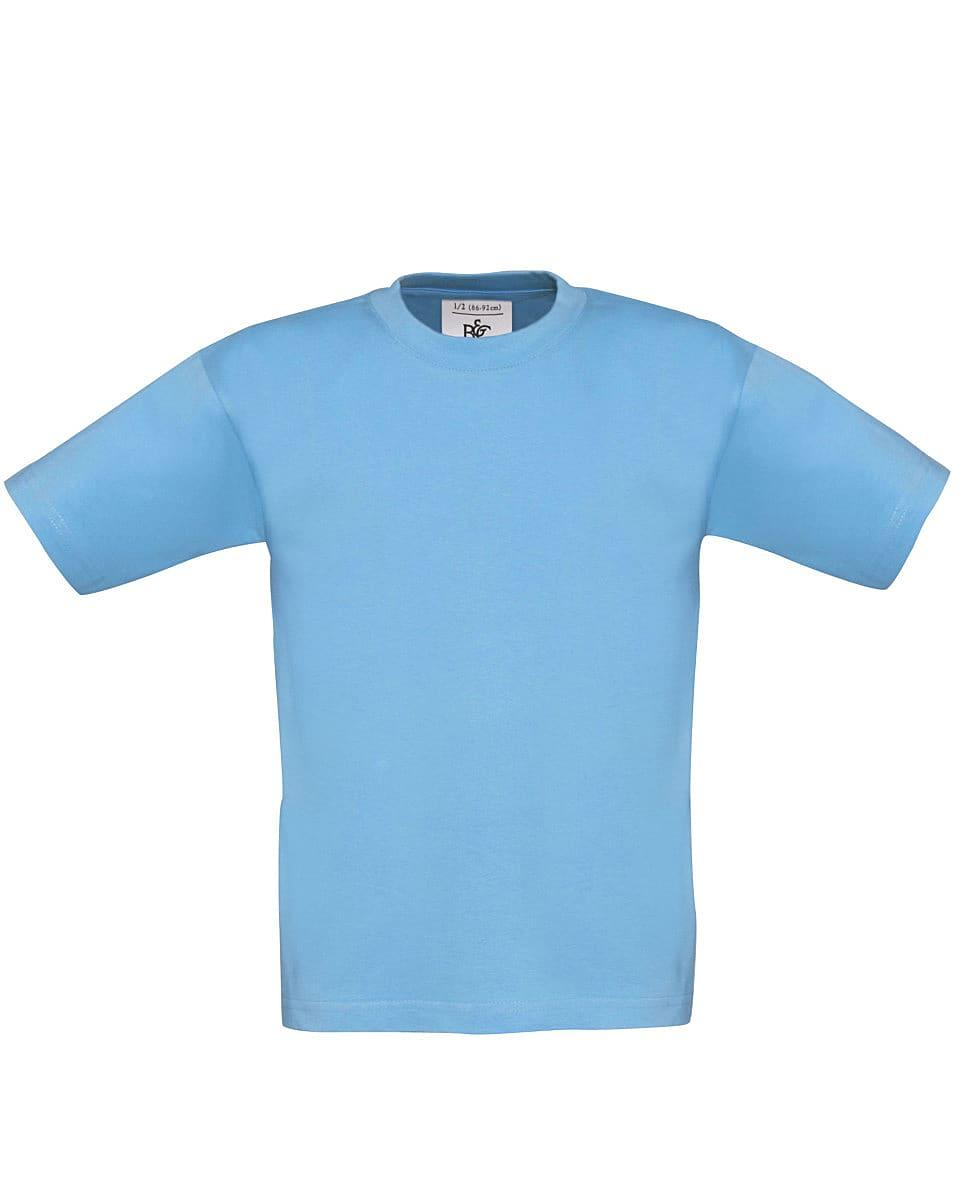 B&C Childrens Exact 150 T-Shirt in Sky Blue (Product Code: TK300)