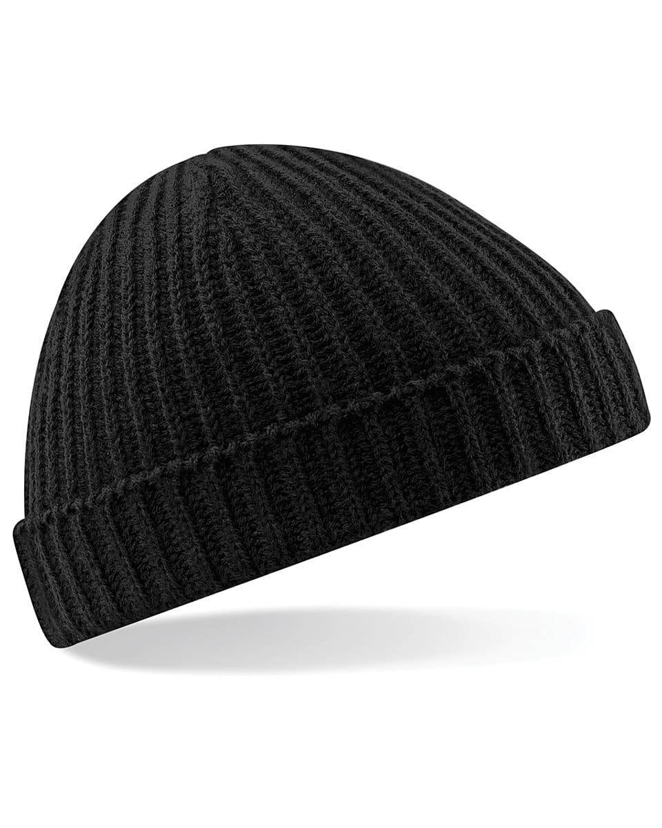 Beechfield Trawler Beanie Hat in Black (Product Code: B460)