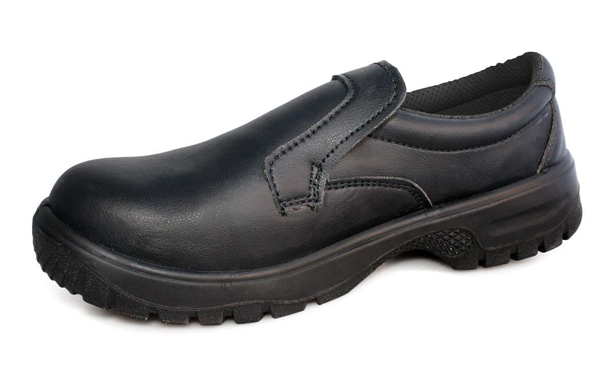 Dennys Slip-On Shoes in Black (Product Code: DK40)