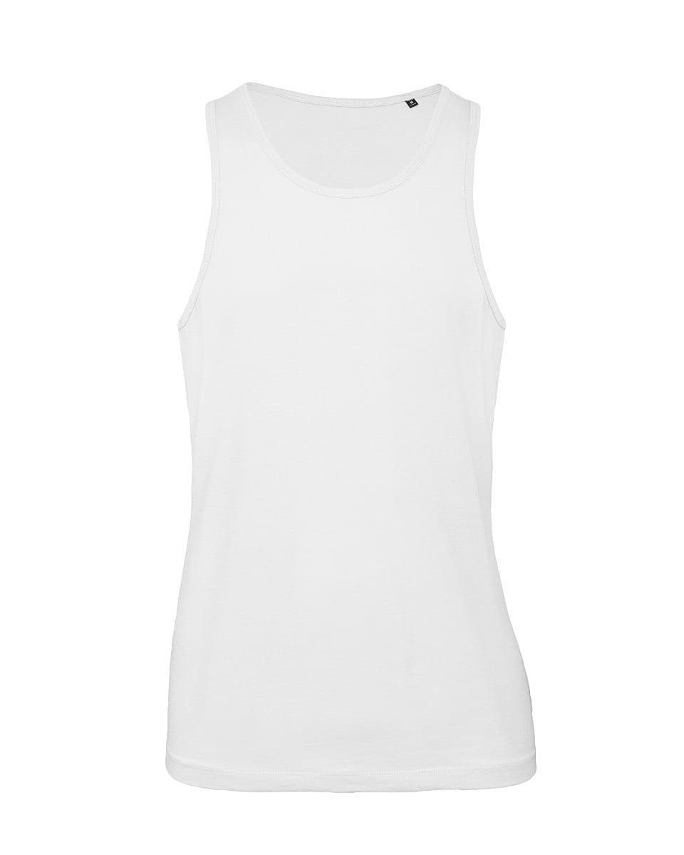 B&C Mens Inspire Tank in White (Product Code: TM072)