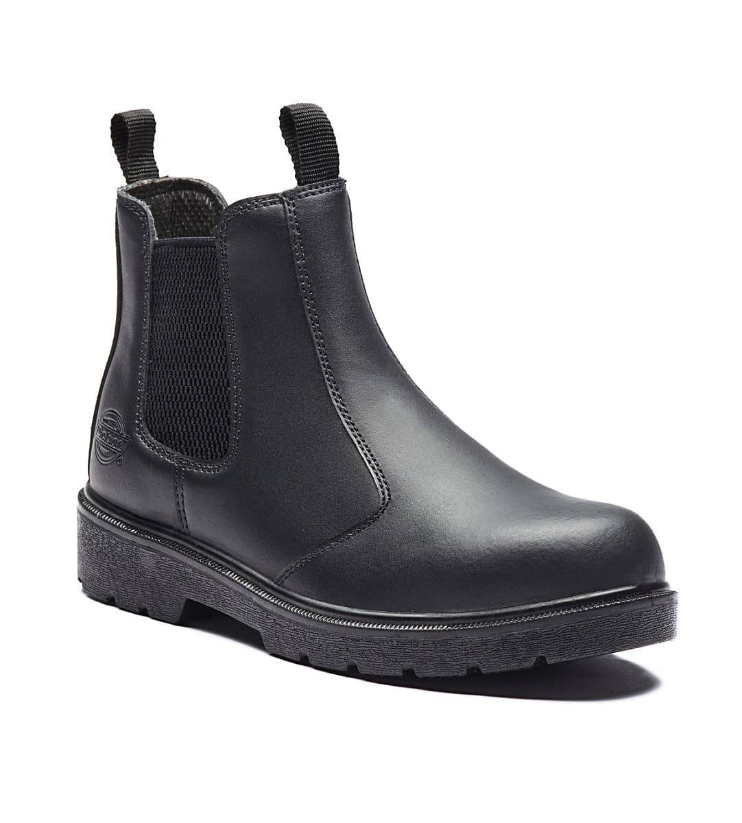 Dickies Super Safety Dealer Boots S1-P in Black (Product Code: FA23345)