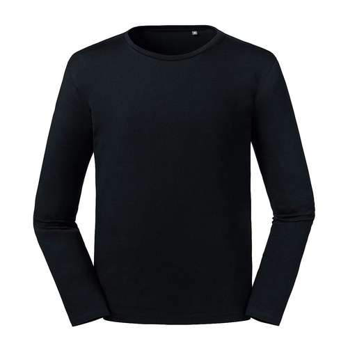 Russell Pure Organic Russell Mens Pure Organic Long-Sleeve T-Shirt