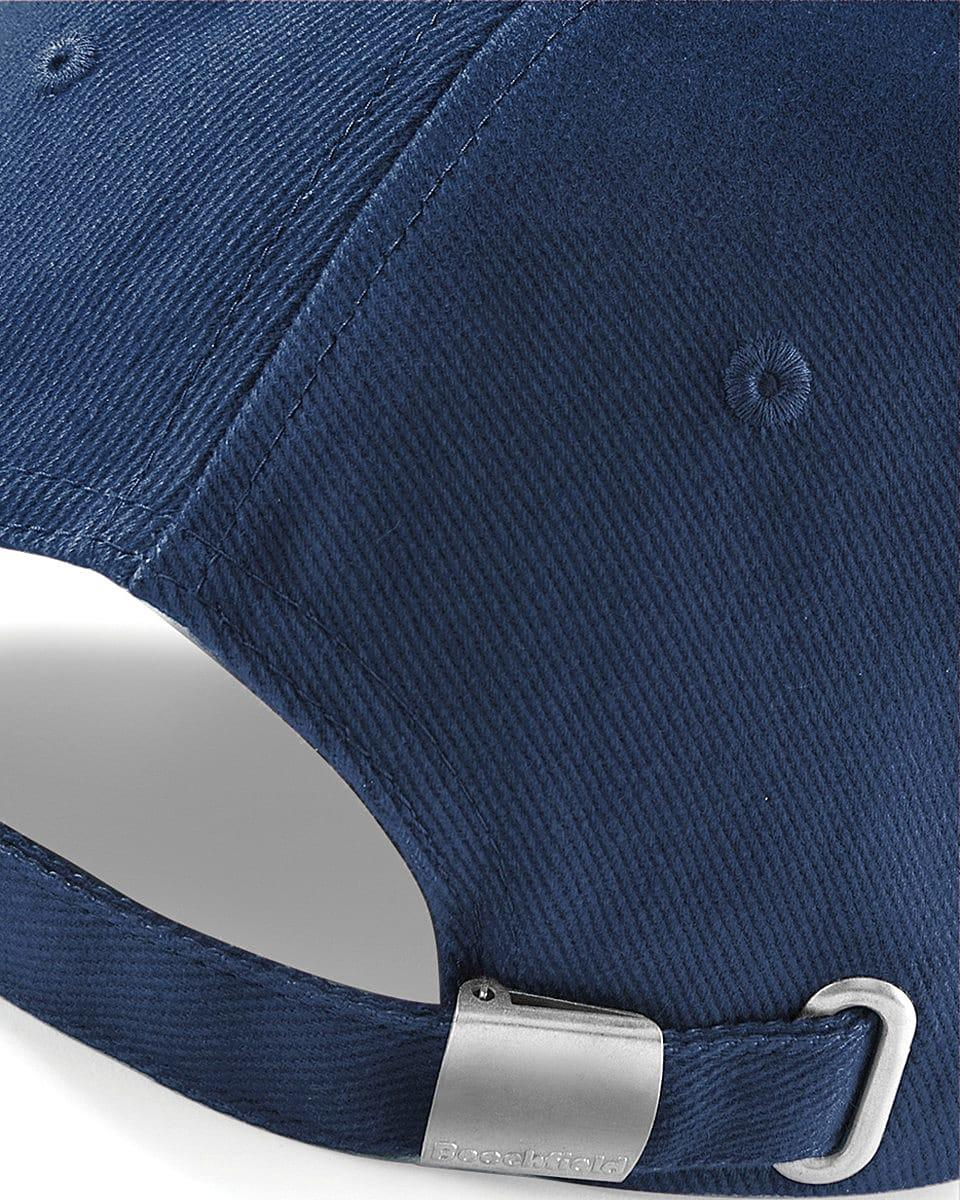 Beechfield LP Heavy Brushed Cotton Cap in French Navy (Product Code: B57)