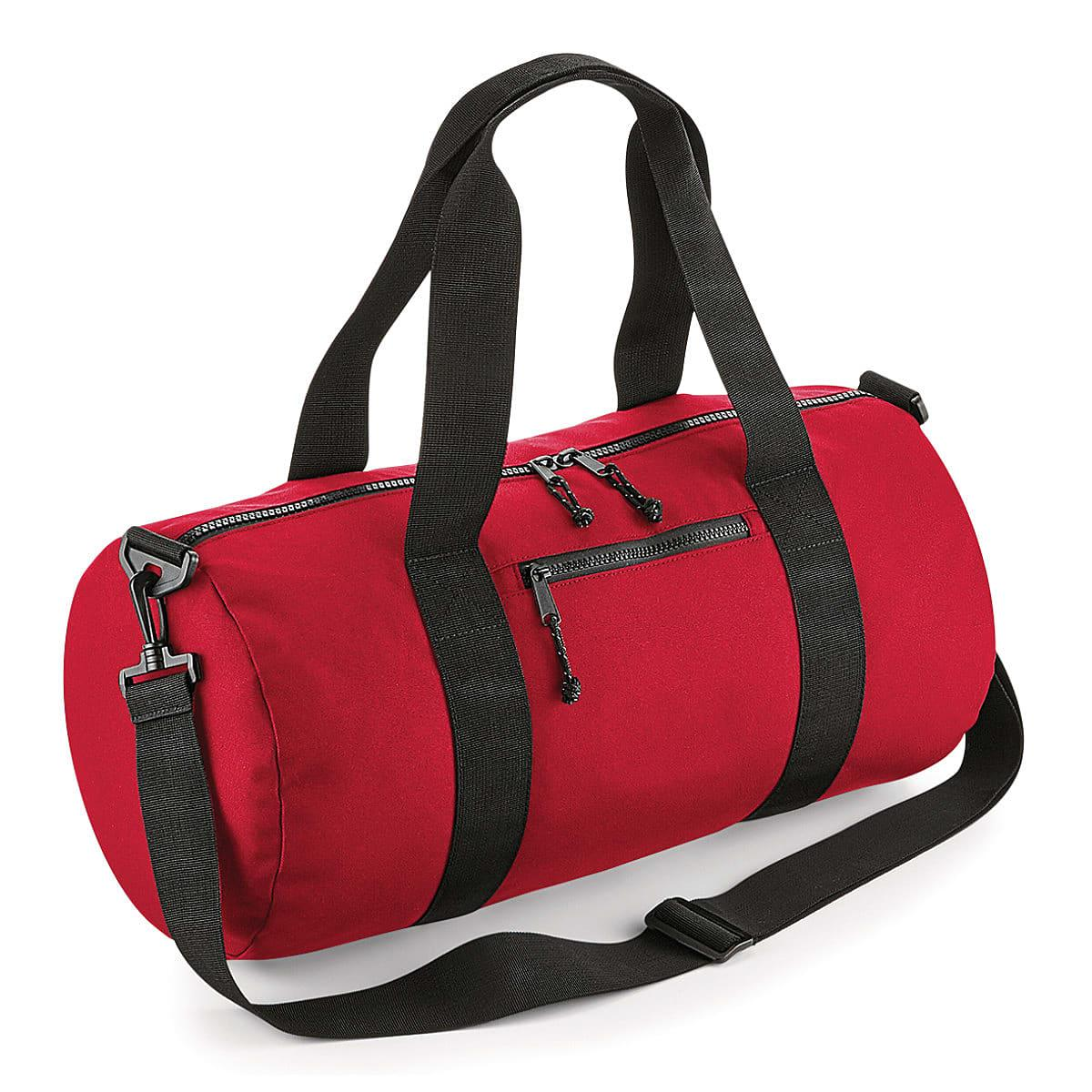 Bagbase Recycled Barrel Bag in Classic Red (Product Code: BG284)